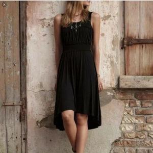Anthropologie Girls from Savoy M Black knit dress